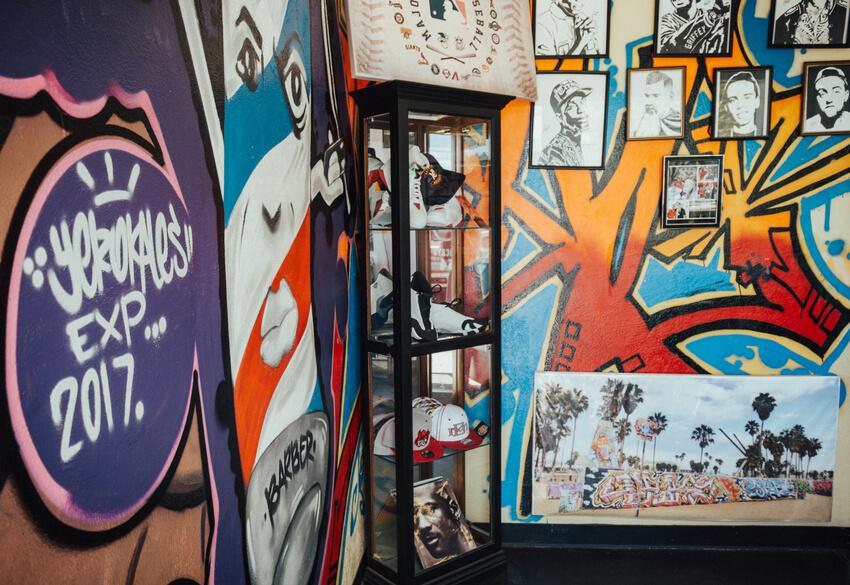 Graffiti Hair Salon, one of the hair salons in Rexburg