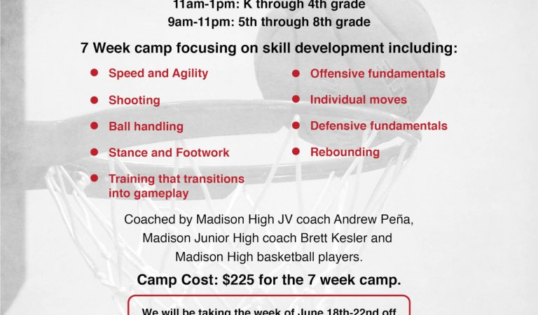 Madison Basketball Association summer camp returns
