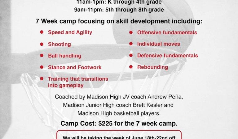Madison Basketball Association summer camp returns