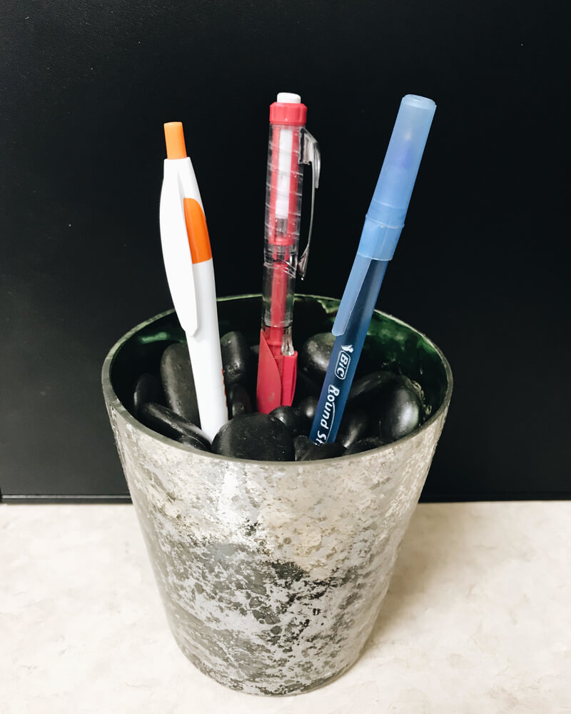 Dollar Tree pen holder