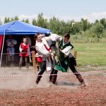 East Idaho Renaissance Faire grappling