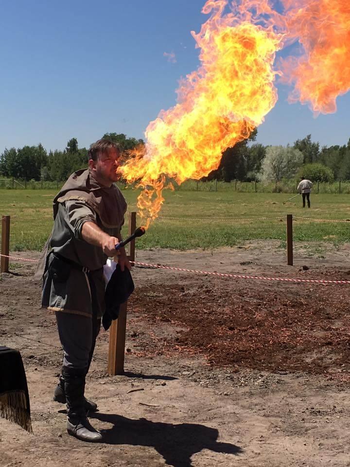 East Idaho Renaissance Faire firebreather