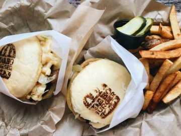 Idaho Burger Grill combo meal