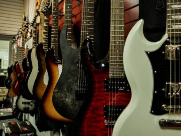 Mike's Music guitars