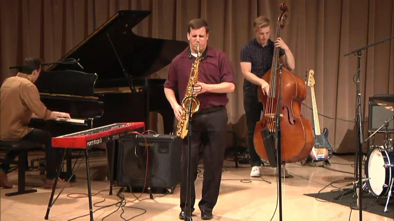 jazz scene saxophonist