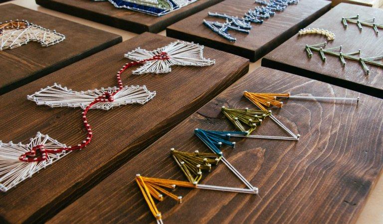 KayLay Designs creates string art in Rexburg