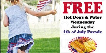 Rudd & Company will give away free hot dogs
