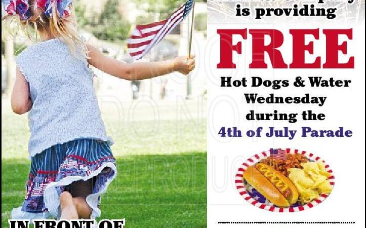 Rudd & Company to give away hot dogs at parade