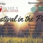 Festival in the Park brochure