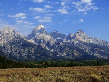 Tetons from Wyoming side, featured on new Kanye West Album YE