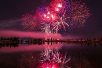Idaho Falls is one of the best places to watch fireworks.