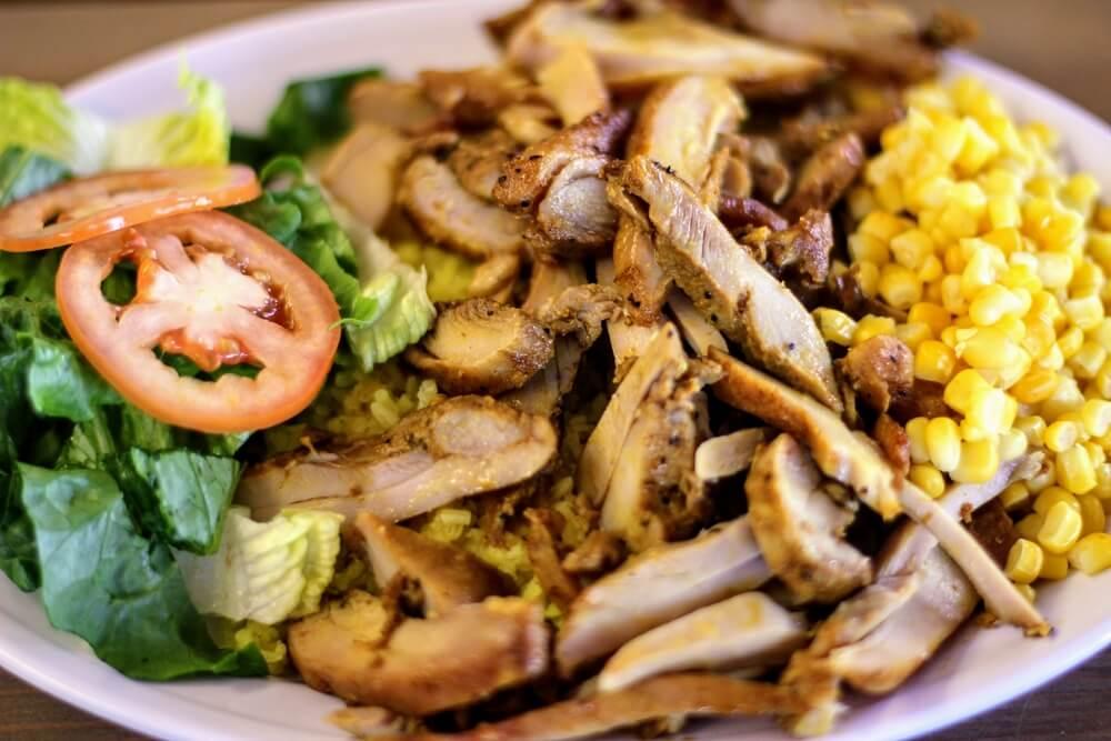 Chicken shawarma at Steak and Kebab Hut