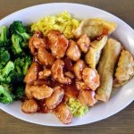 Sweet and sour chicken at Steak and Kebab Hut