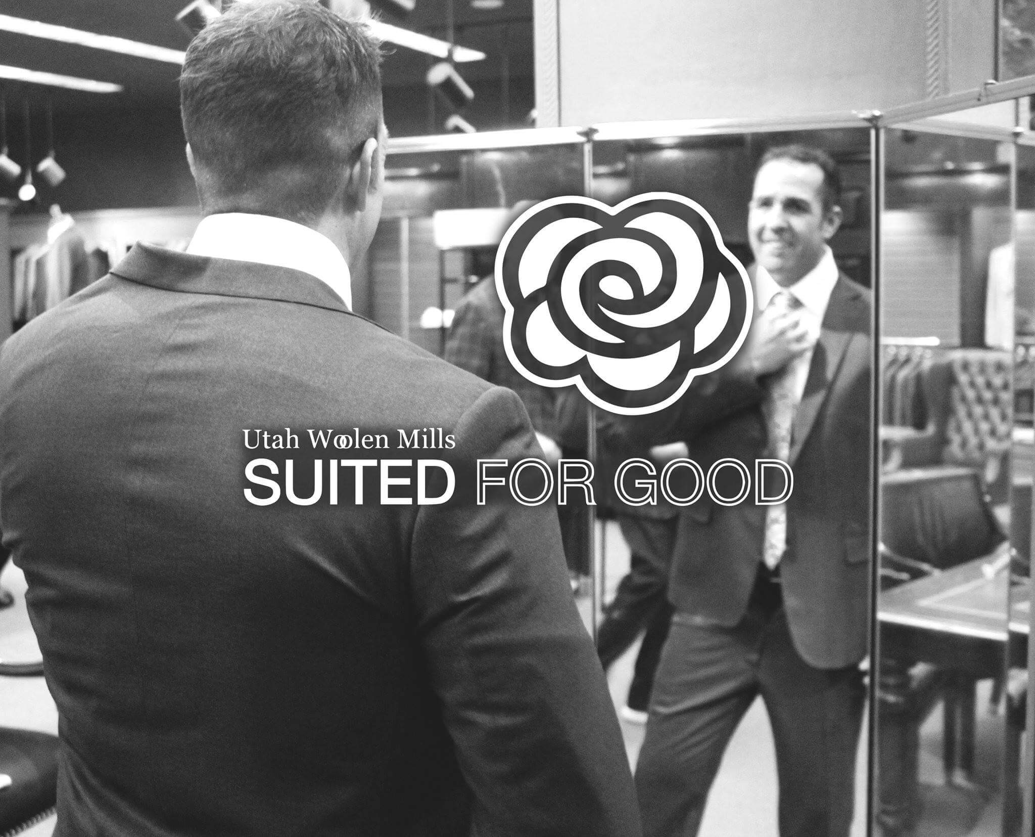 Suited For Good campaign