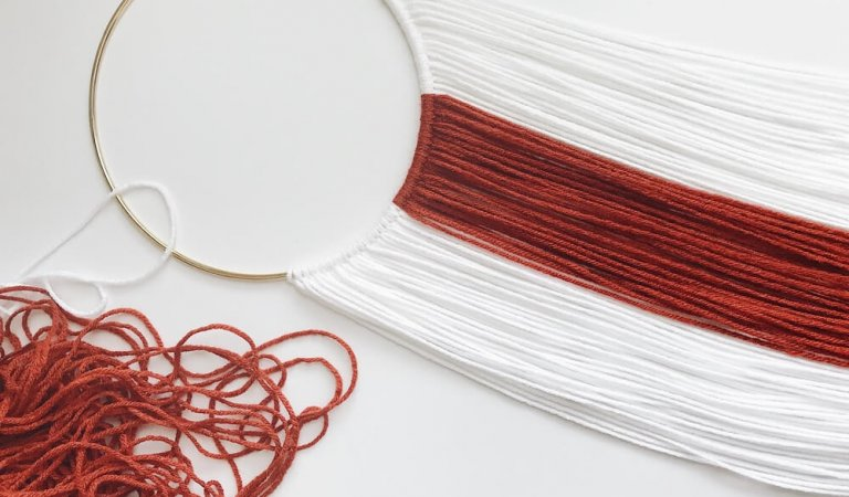 KLW Studios sells yarn hangings for your space