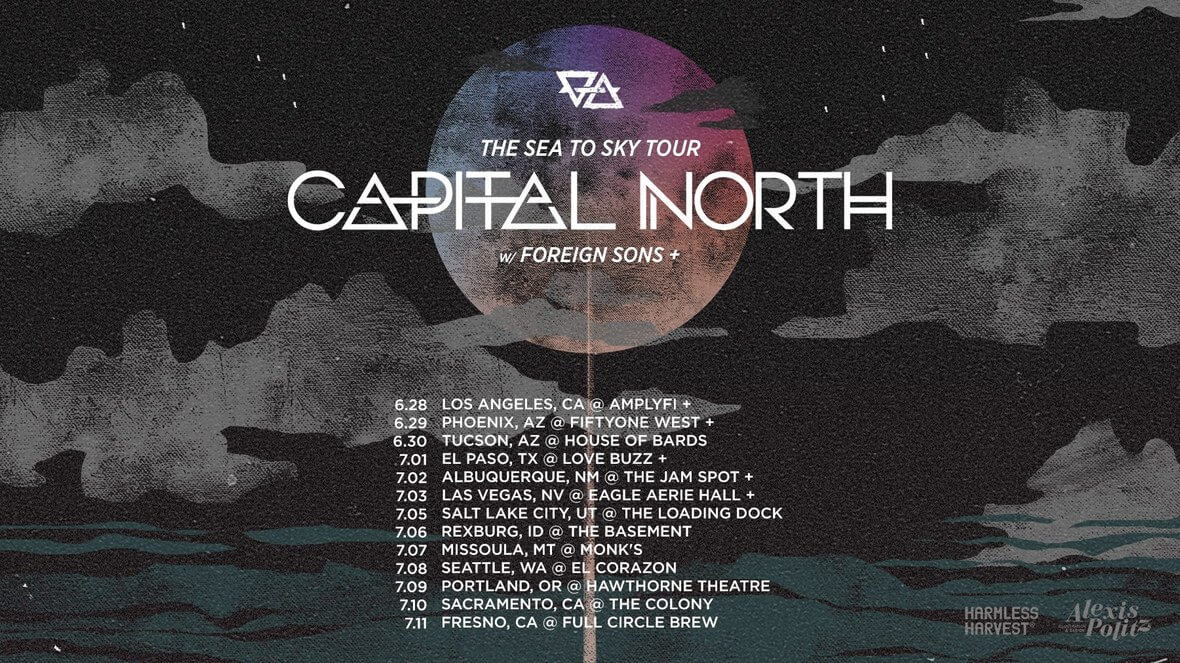 Capital North tour schedule