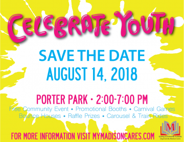 Celebrate Youth poster 2018
