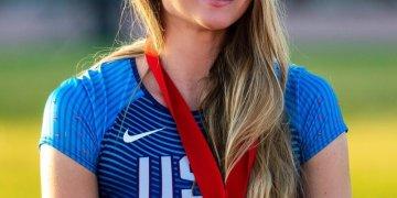 Chari Hawkins, local Olympian