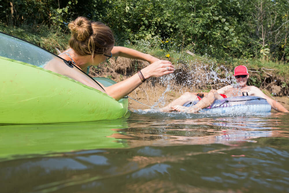 Float the River at Lava Hot Springs