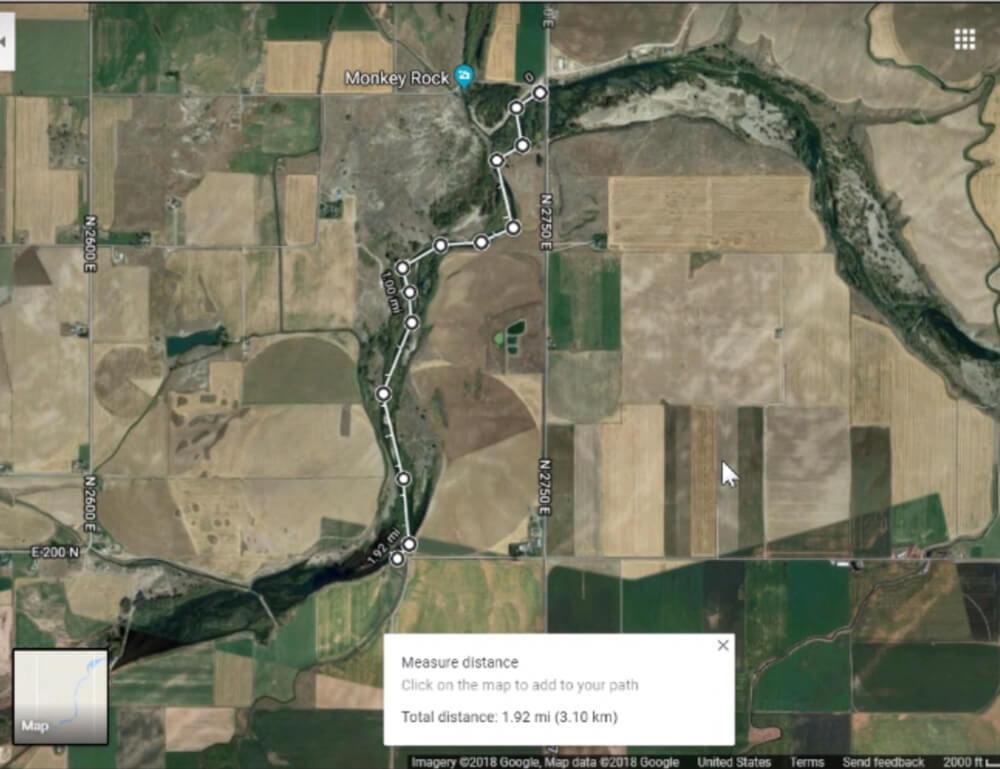 Float the river at Siddoway