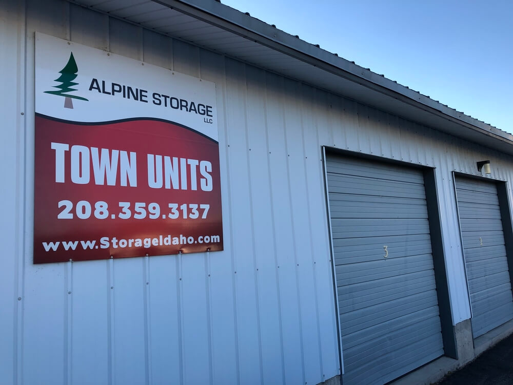 alpine storage are some of the storage units in rexburg
