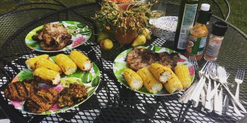 Summer cookout means grilled items