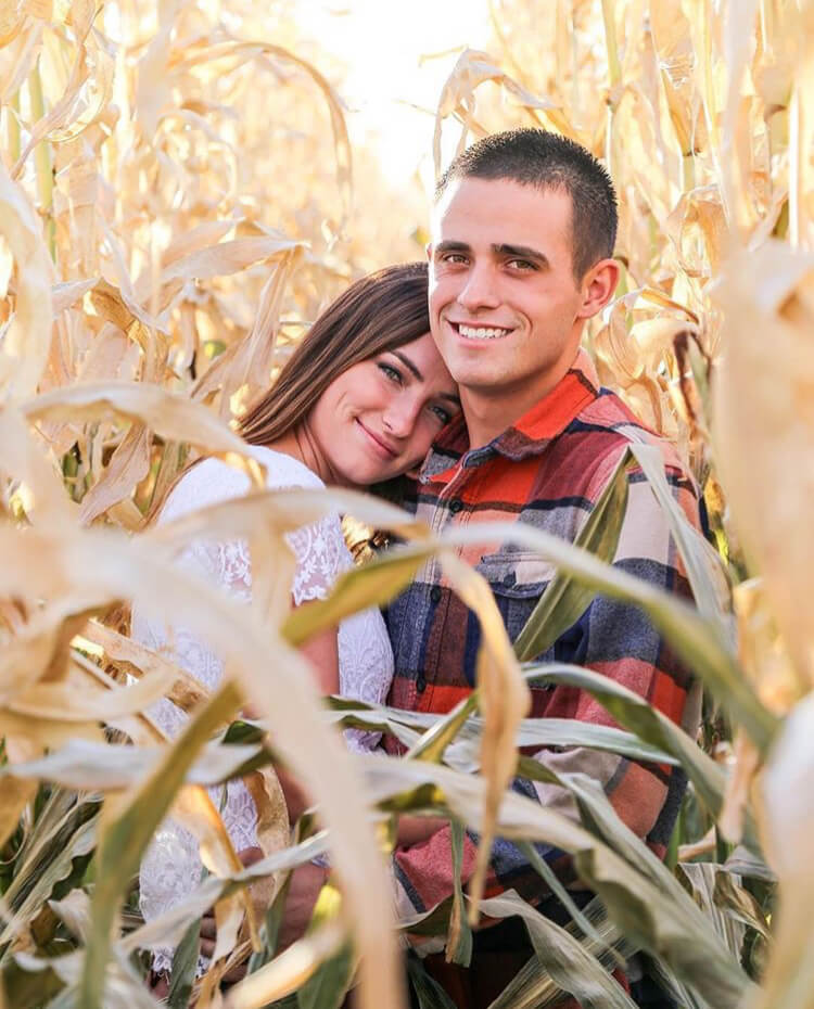The Corn Maze is one of the great fall date ideas