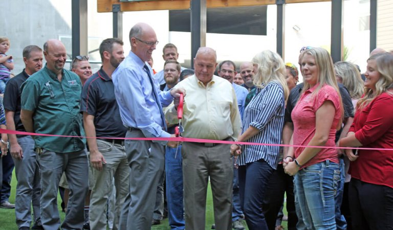 Hemming Village Ribbon Cutting a Success