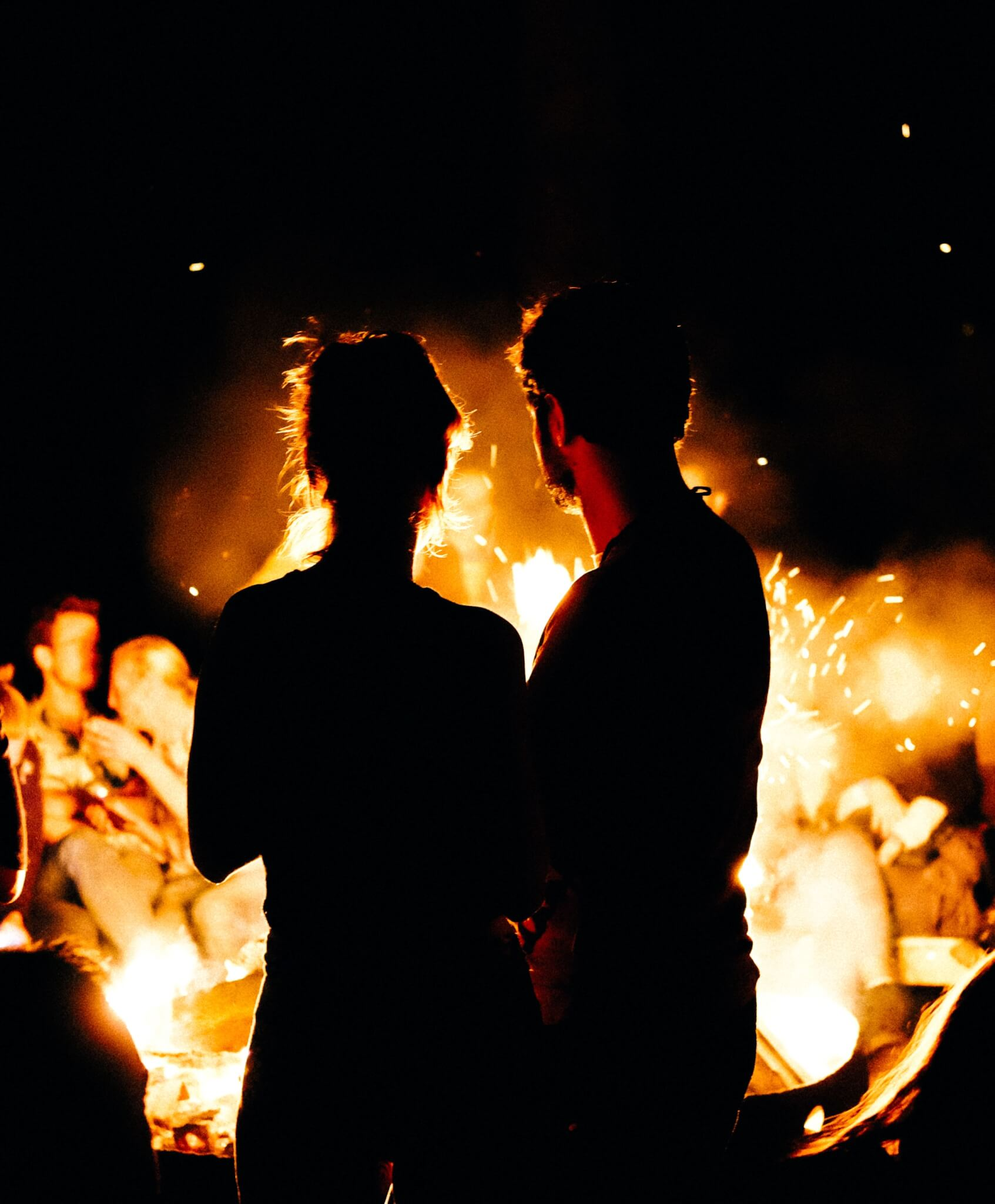 Bonfires are one of the great fall date ideas