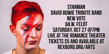 Starman, David Bowie at Romance Theater