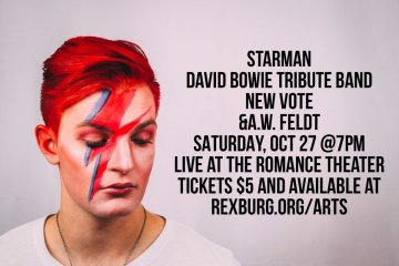 Starman, David Bowie at Romance Theater