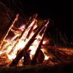 Bonfire in Rexburg
