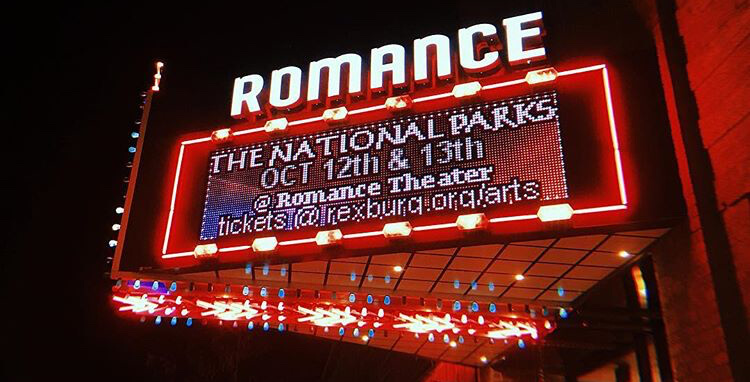 Romance Theater is on Main Street in Rexburg