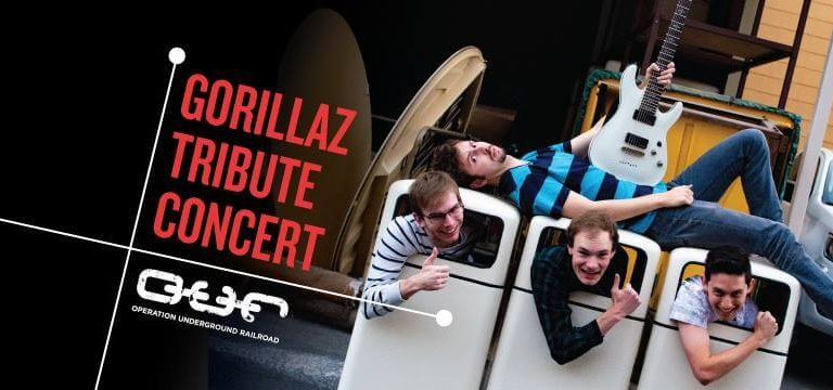 Gorillaz tribute concert at Rexburg Tabernacle