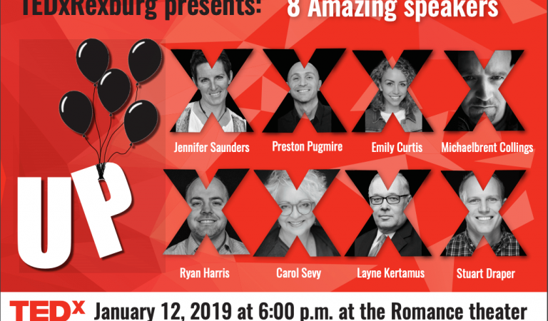 TEDxRexburg Coming January 12th