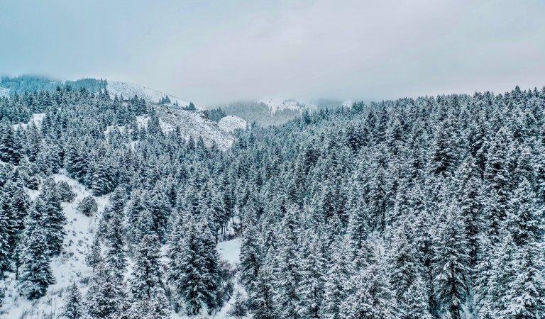 2018-19 Rexburg Water & Weather Year Summary & First Snowstorm?