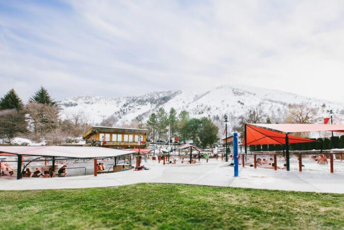 Winter Vacation - Lava Hot Springs