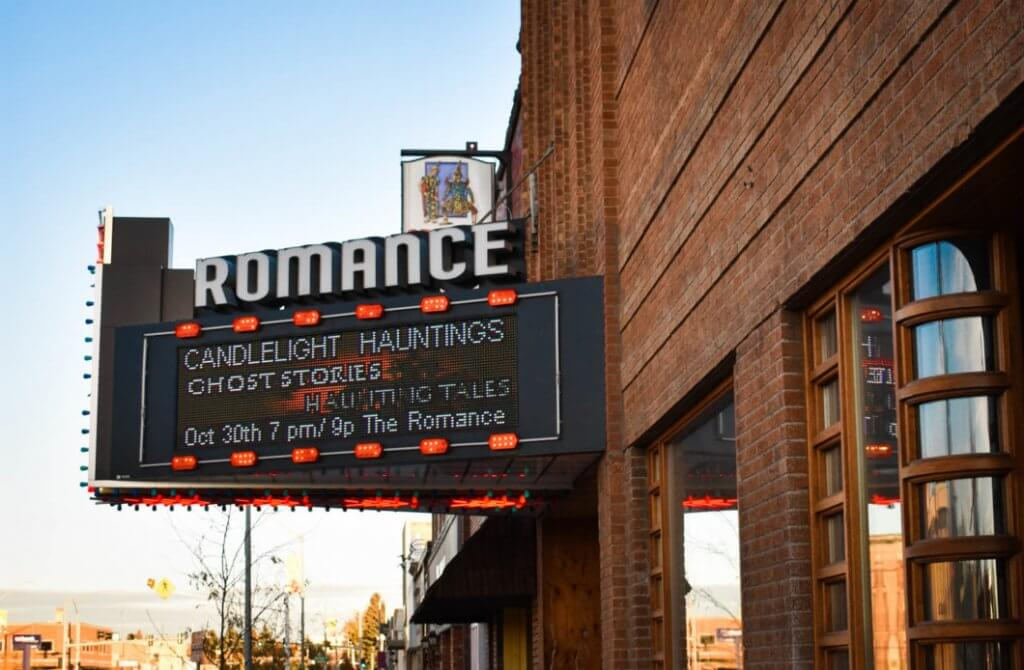 The Romance Theater in Rexburg
