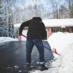 snow shoveling explore rexburg idaho
