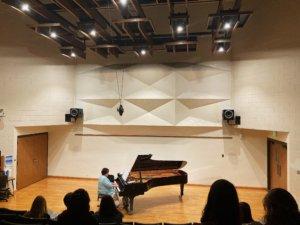 music recital